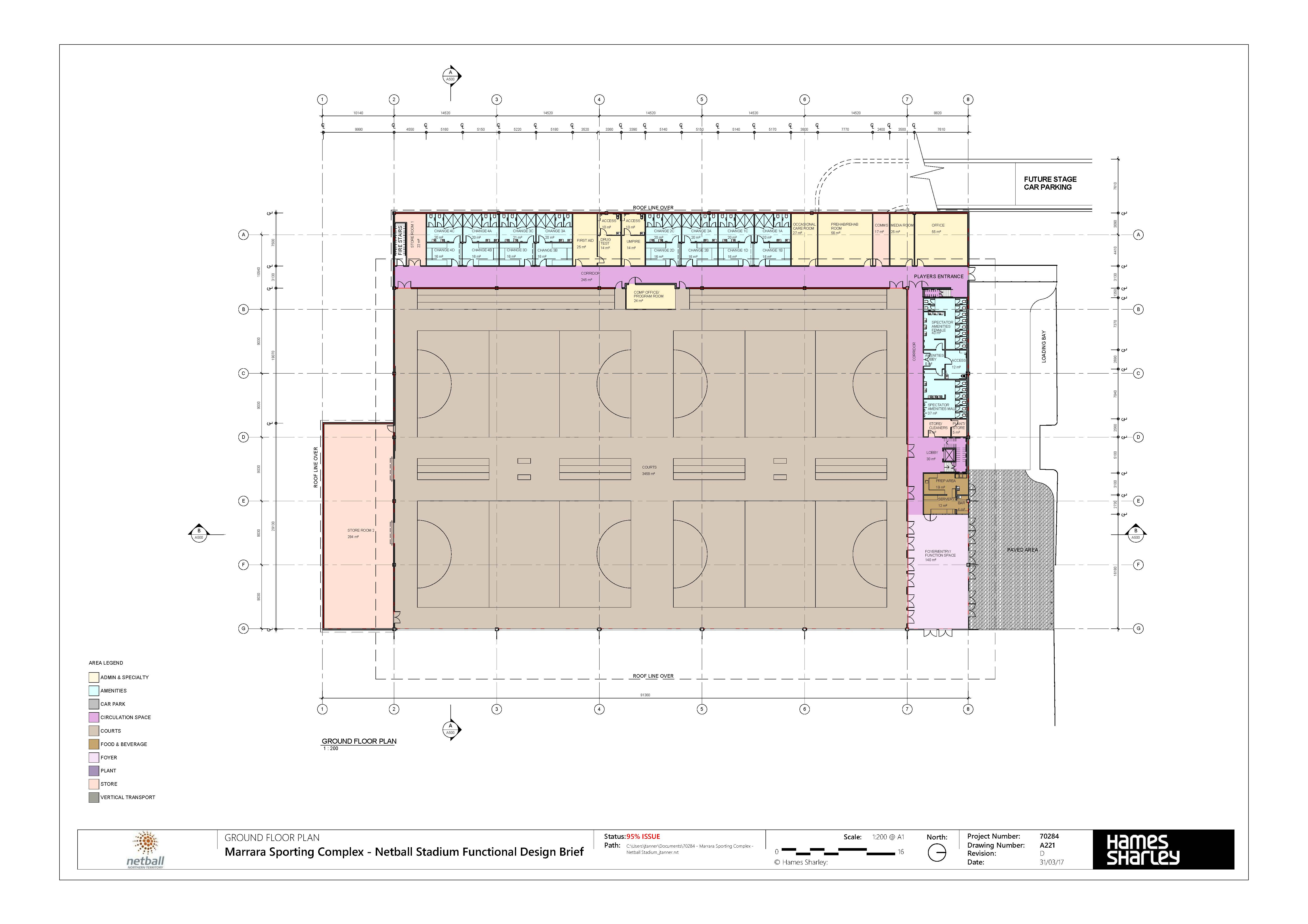 5497x3883 Darwin Indoor Netball Stadium Have Your Say Northern Territory