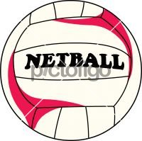 200x199 Freehand Drawing Image From Pictofigo For Netball