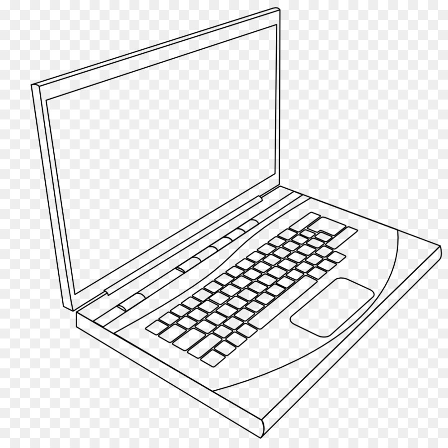900x900 Laptop Drawing Line Art Clip Art
