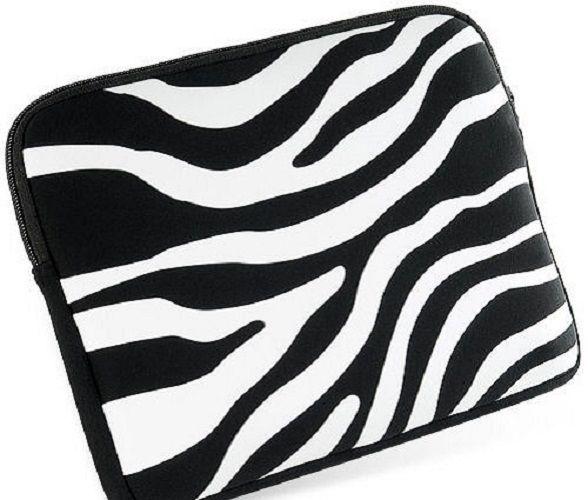 588x500 New Zebra Sleeve Bag Case Acer Aspire One 10.1 Netbook Ebay