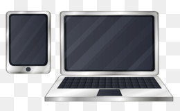 260x160 Laptop Netbook Personal Computer Drawing