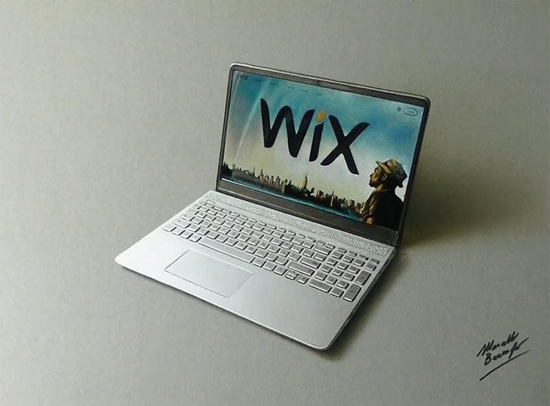 800x590 Laptop Drawing