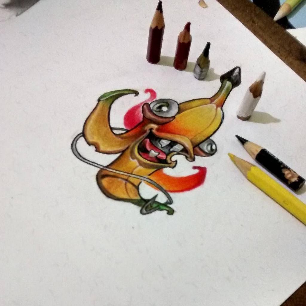 1024x1024 Testando Papel Novo Desenhado New School @jamieris