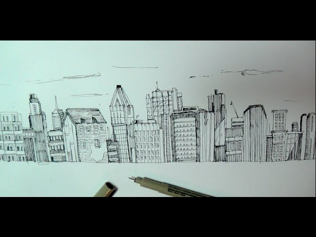 640x480 Learn To Draw The Nyc Skyline Better Than Donald Trump
