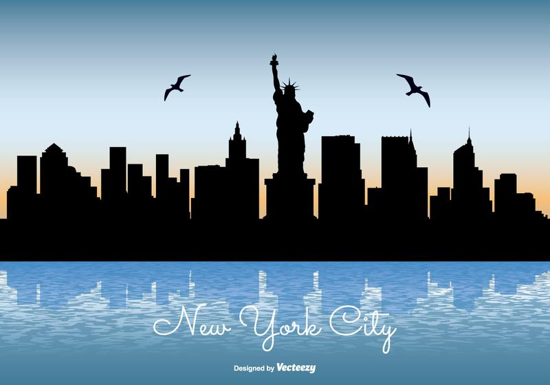 800x560 New York City Skyline Illustration