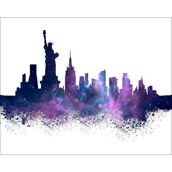 600x600 New York Watercolor Painting Art Print 8 X 10 New York City