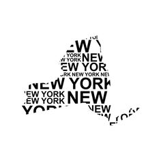 236x236 New York City Skyline Black And White Circle Vector Illustration