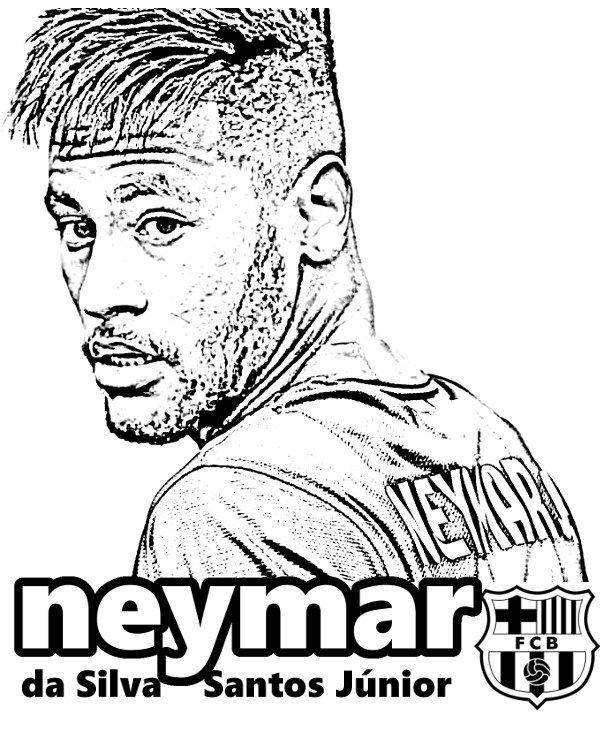 The best free Neymar drawing images. Download from 50 free drawings ...