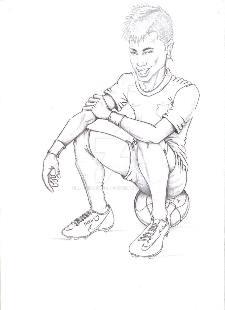762x1048 Neymar By Andsimione