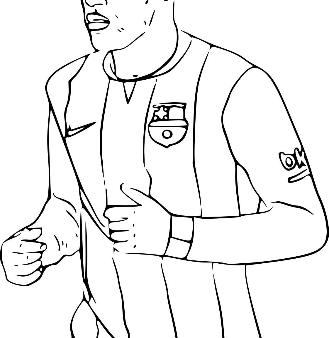 1122x1150 Sumptuous Design Inspiration Soccer Coloring Pages Neymar Fc