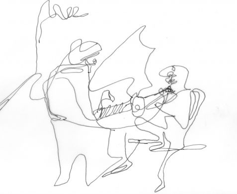 Nightclub Drawing
