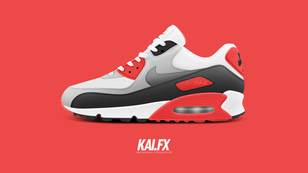 sale retailer 8e535 d8e4d Nike Air Max 90 Drawing at GetDrawings.com | Free for ...
