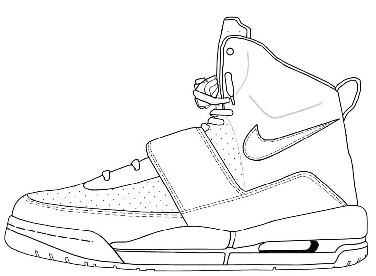 760x558 Best Photos Of Nike Shoe Template Easy Drawing Sketches Nike Nike