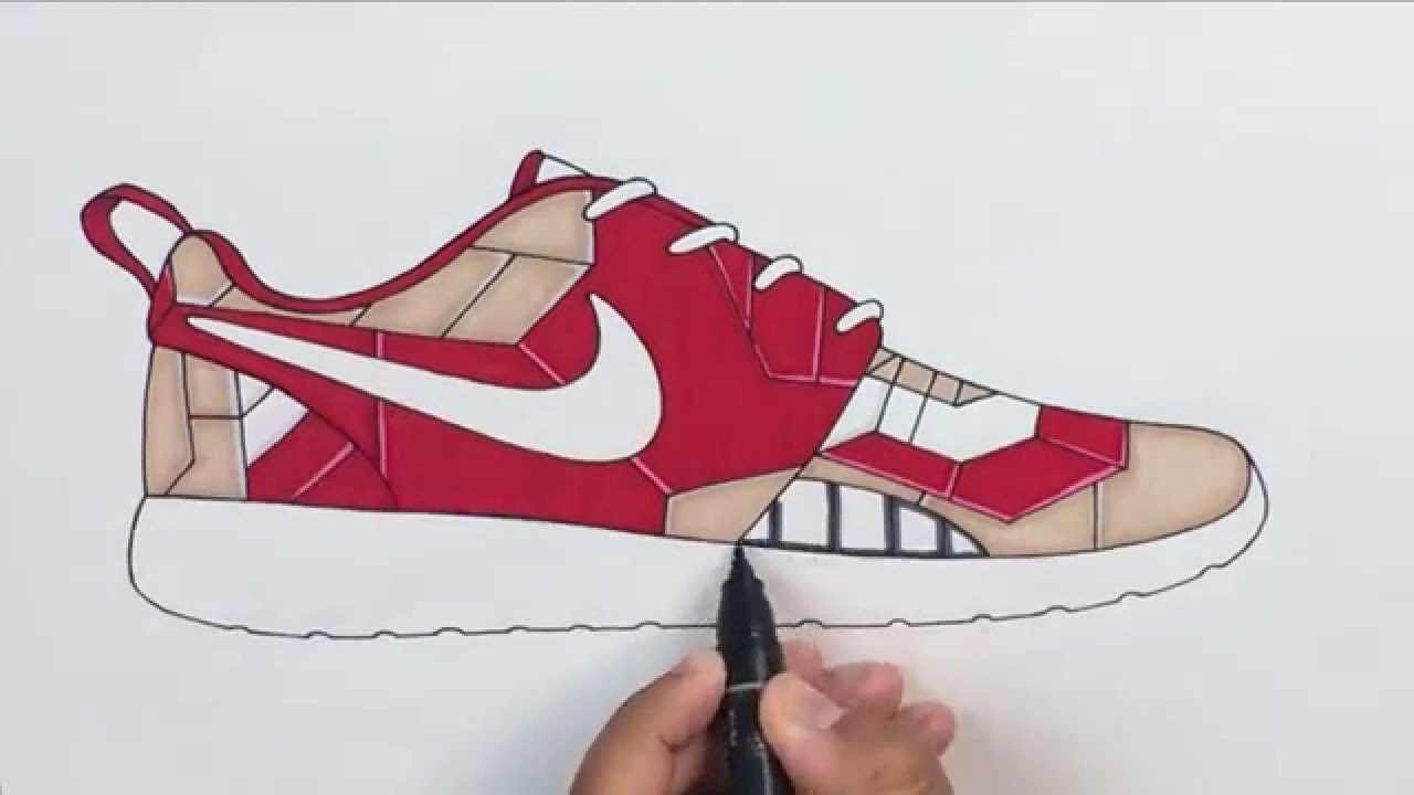 the best attitude 22b5f 845f3 get 1280x720 28 collection of drawing of nike roshe high quality free 7dc5d  e2418