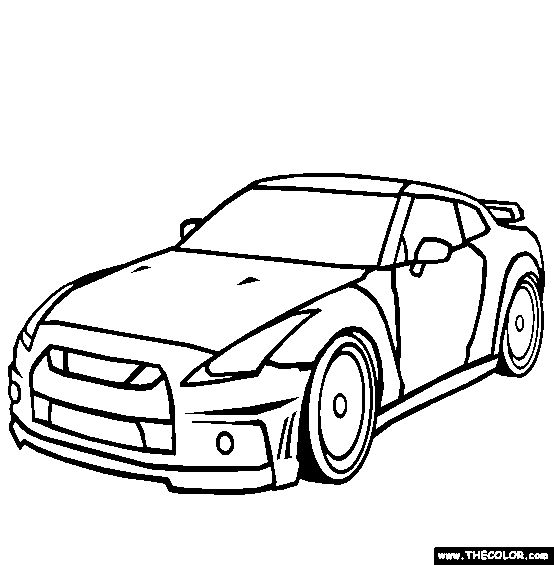 554x565 Coloring Pages Nissan Gtr New 66 Best Ford Coloring Pages Images