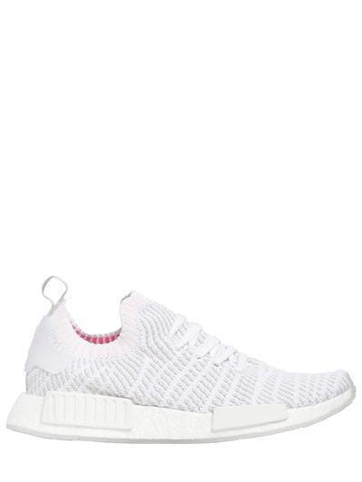 400x533 Adidas Originals, Nmd R1 Stlt Primeknit Sneakers, White, Luisaviaroma