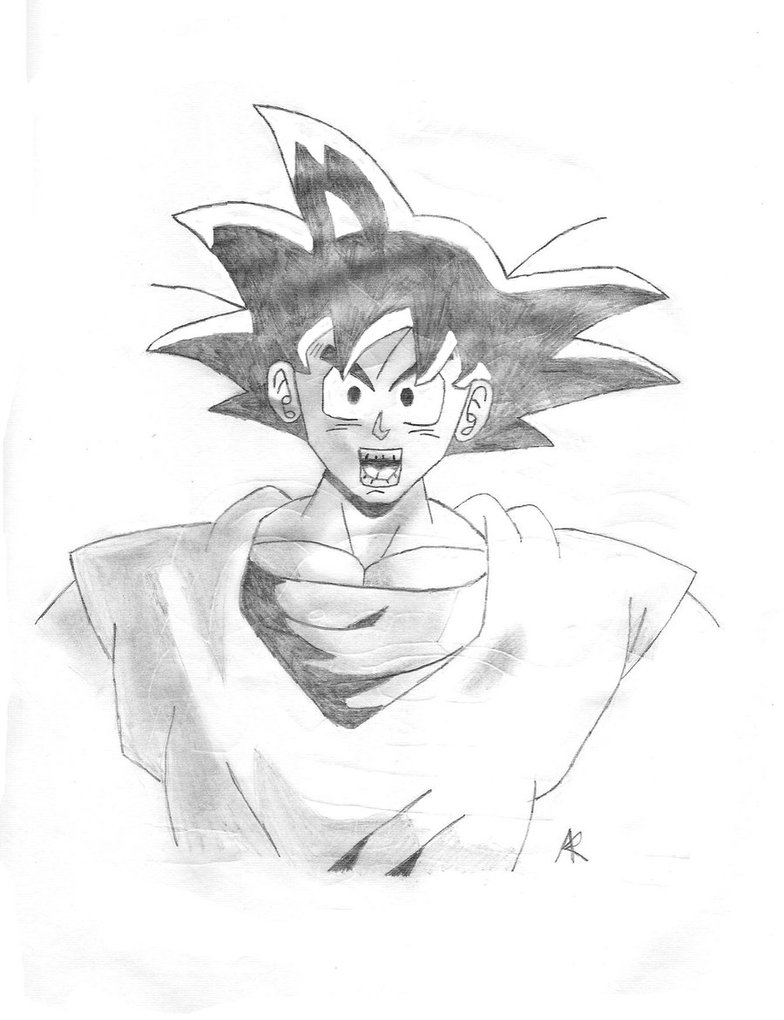 784x1020 Normal Goku By Doctor Bones