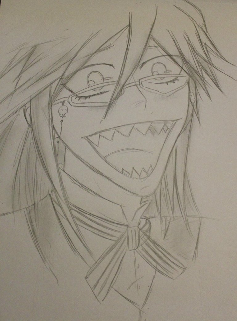 769x1040 A Normal Drawing From Me. Grell. By Freakgeekgetcrunk