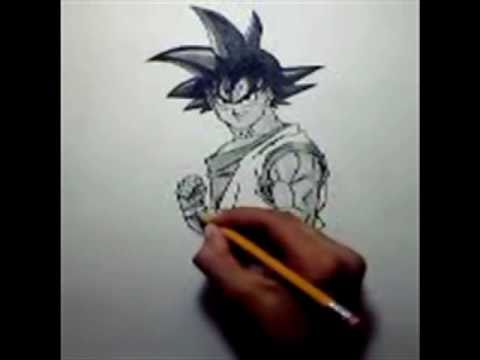 480x360 How To Draw Goku Normal
