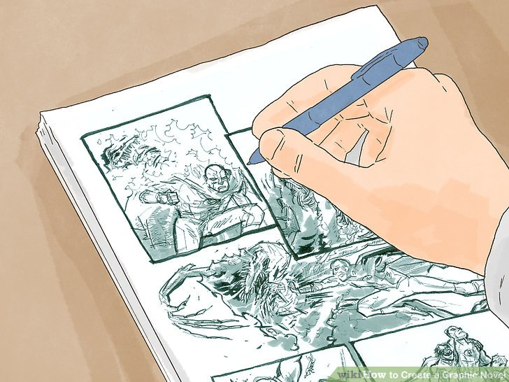 728x546 How To Create A Graphic Novel (With Pictures)