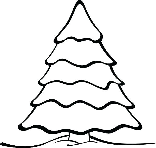 600x569 Oak Tree Outline Bare Tree Coloring Page Oak Tree In The Night