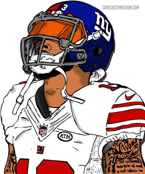 Odell Beckham Jr Drawing Step By Step At Getdrawings Com Free For
