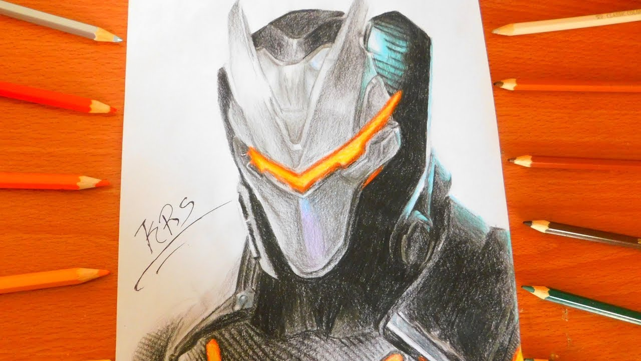 1280x720 Drawing Omega Skin Fully Upgraded How To Draw Max Level Tier 100