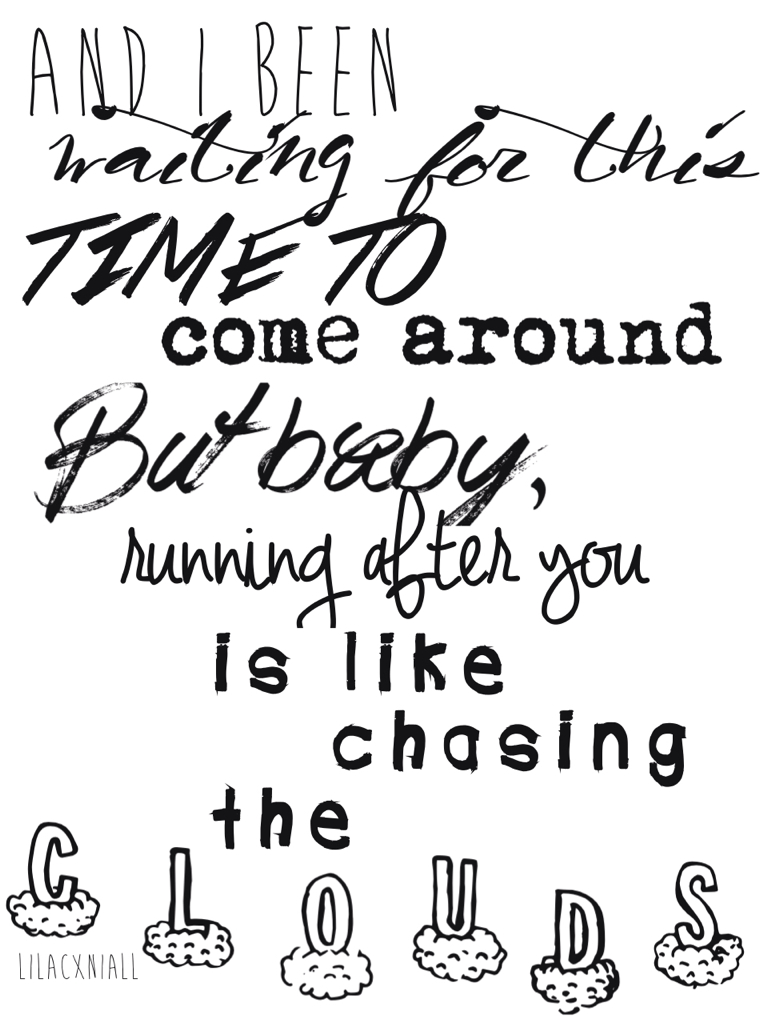 One Direction Lyric Drawing at GetDrawings | Free download
