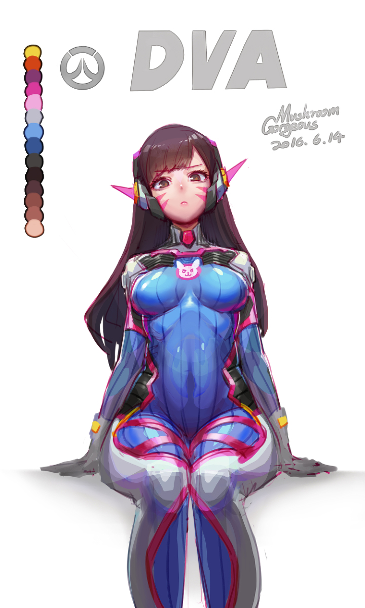 720x1200 D.va By G.m Overwatch Know Your Meme