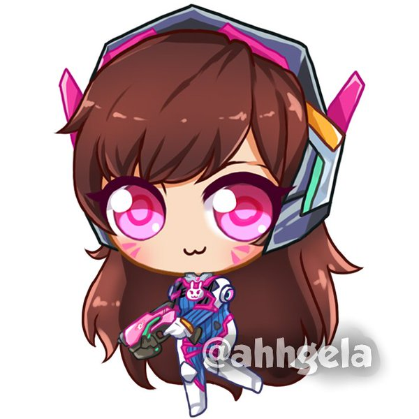 600x600 Angera@anime Revo Otakuthon On Twitter D.va Is So Cute U
