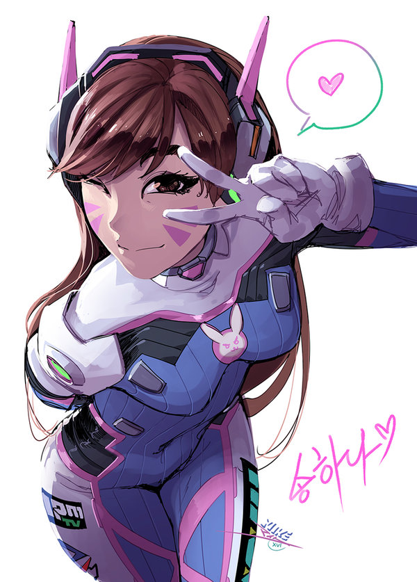 600x837 Love, D.va By Vashperado