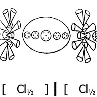 320x320 Oxygen Atom, O. But For Clarity, Only One Of The Two Spirals Is