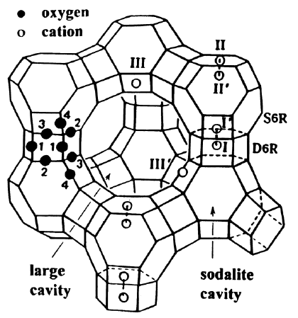 420x449 Stylized Drawing Of Framework Structure Of Zeolite X. Near