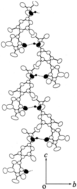 326x795 Crystal Structure Of Cl 2 Pimnh Viewed Along A Axis.