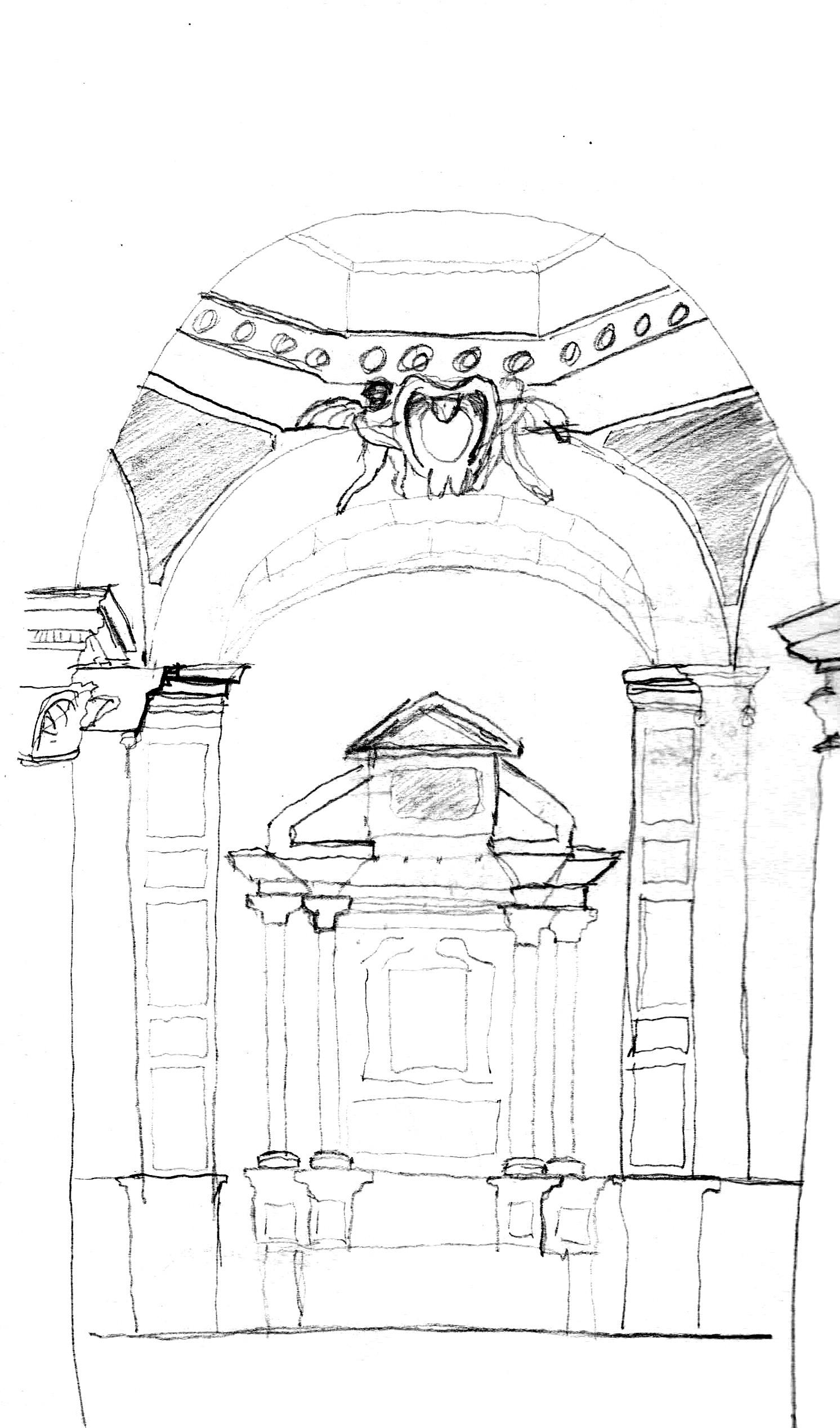 1492x2535 Baroque I Piazza Del Popolo To Santa Maria Della Pace Brad