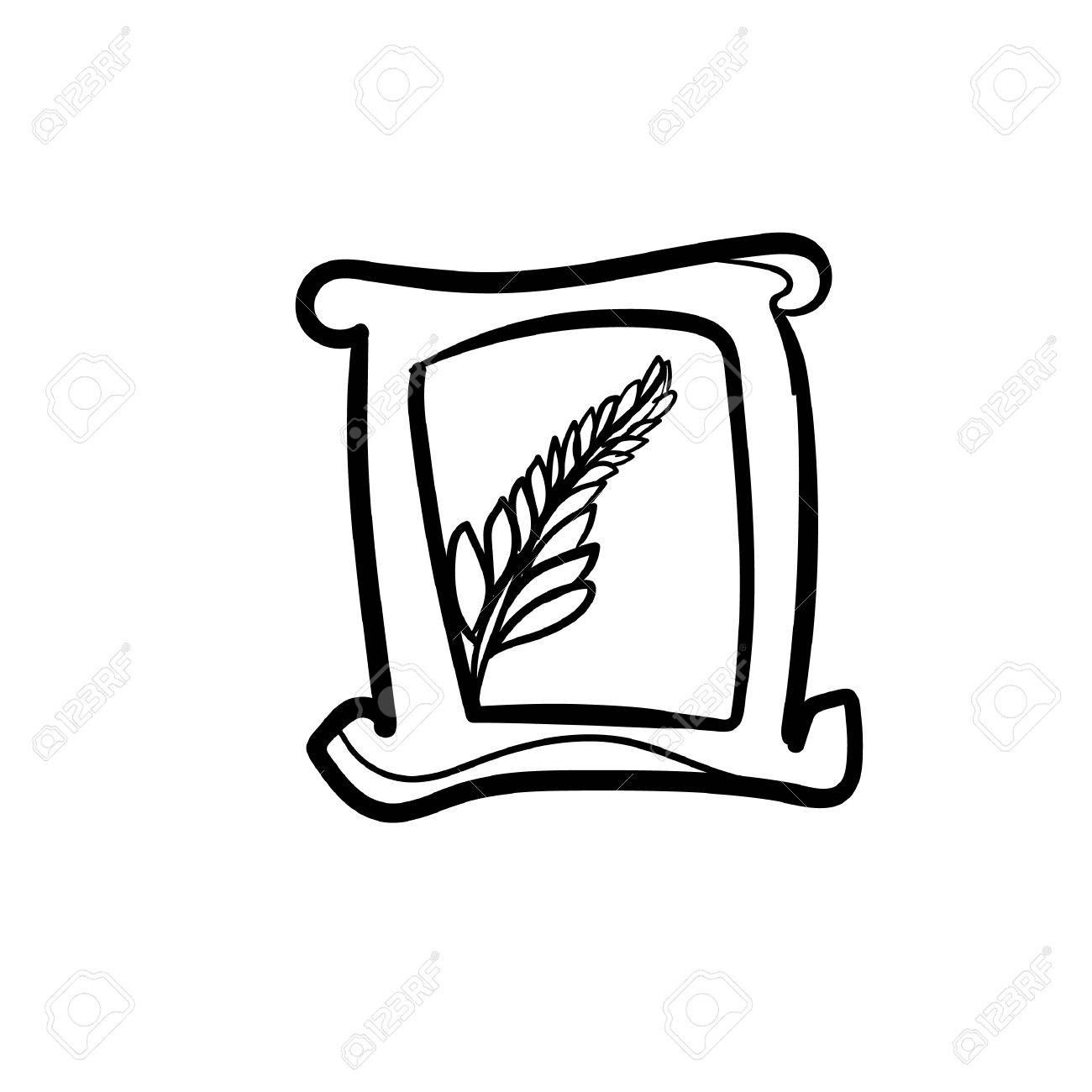 1300x1300 Rice Clipart Rice Packet