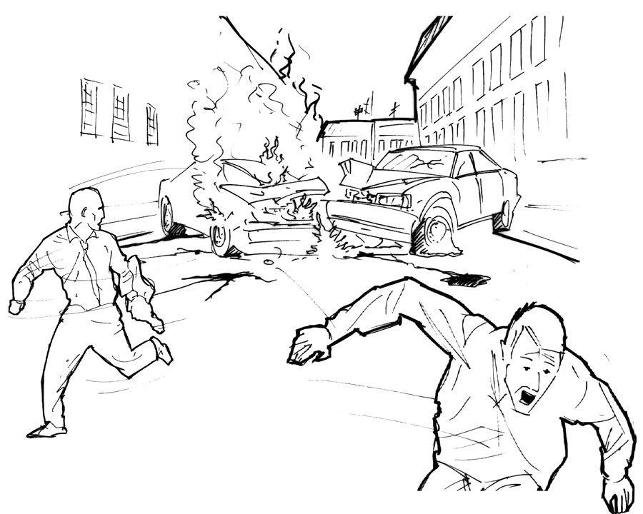 Panic Drawing