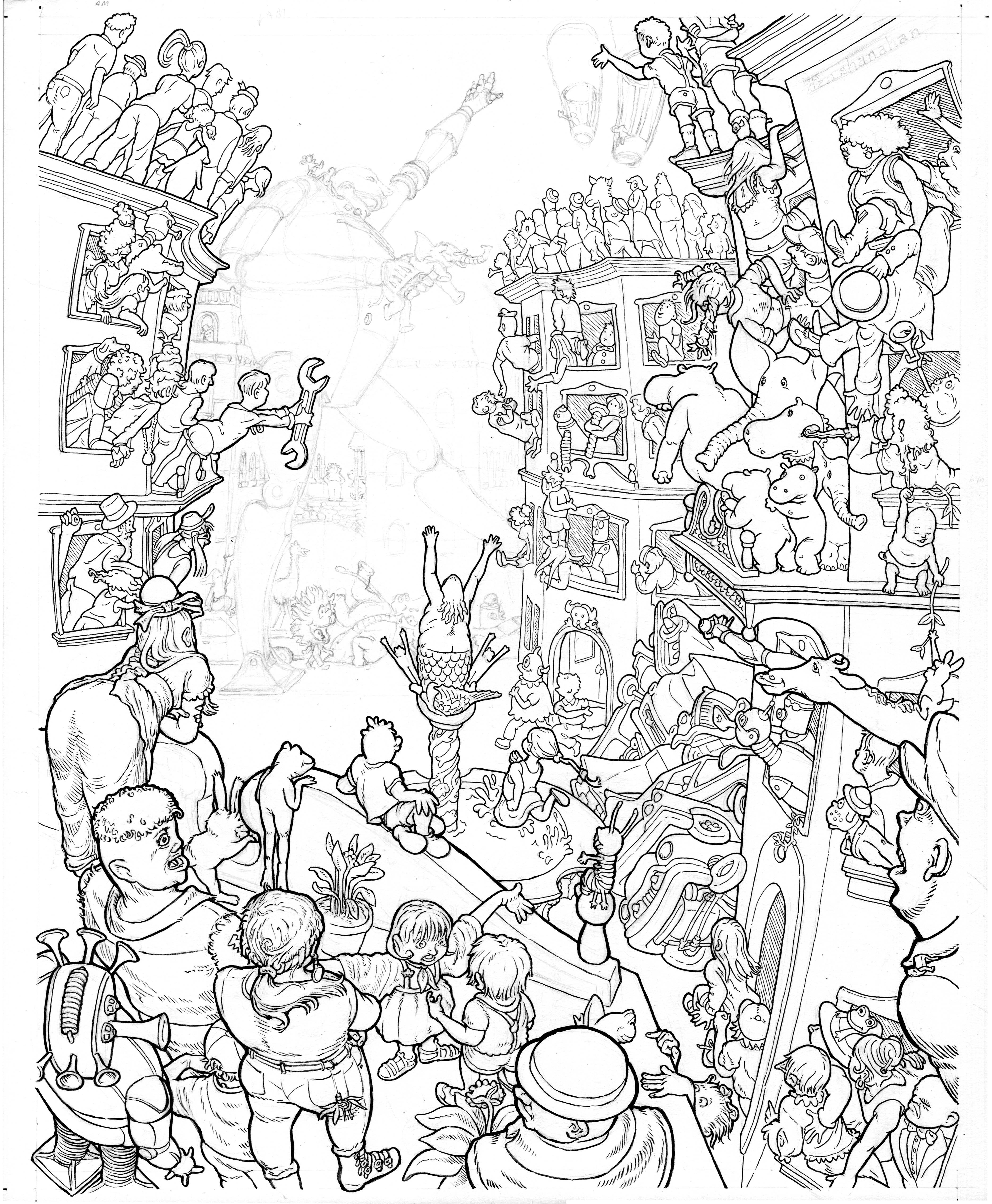Parade Drawing