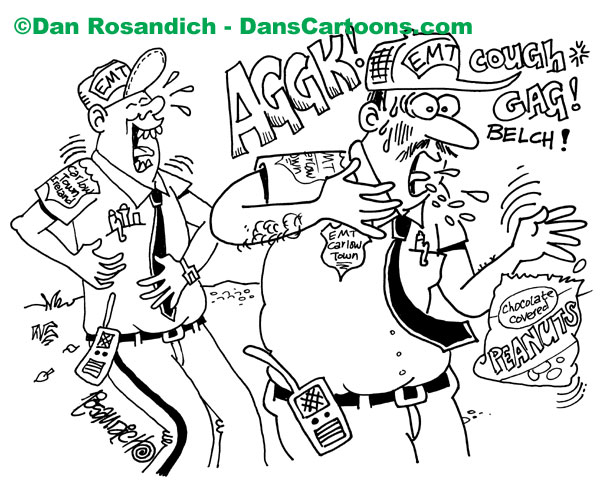 600x481 Paramedic Cartoons About Emts And Ambulance Services