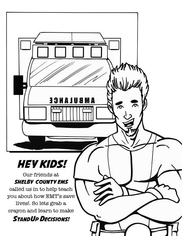 618x800 Paramedic Coloring Pages Emt Coloring Pages Emts Save Lives