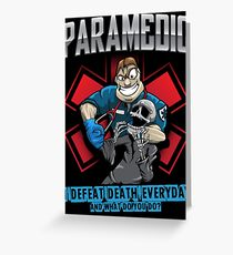 210x230 Paramedic Drawing Greeting Cards Redbubble