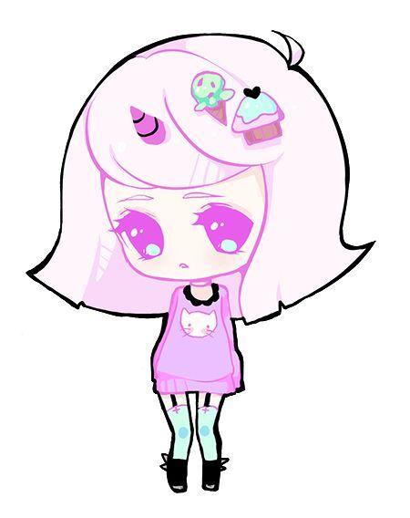 450x568 Kawaii Chibi Girl S2 Kawaii Chibi Girl, Kawaii