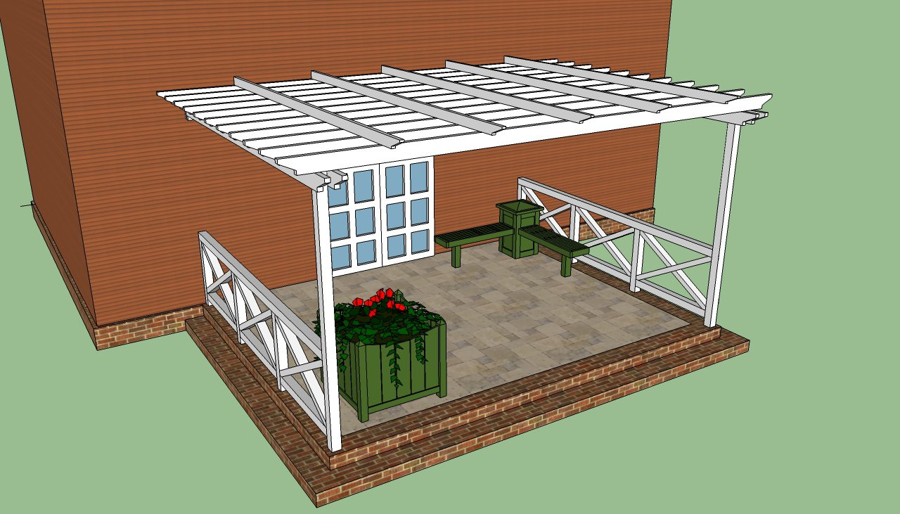1280x731 Pergola Design Ideas Building A Pergola Attached To House White