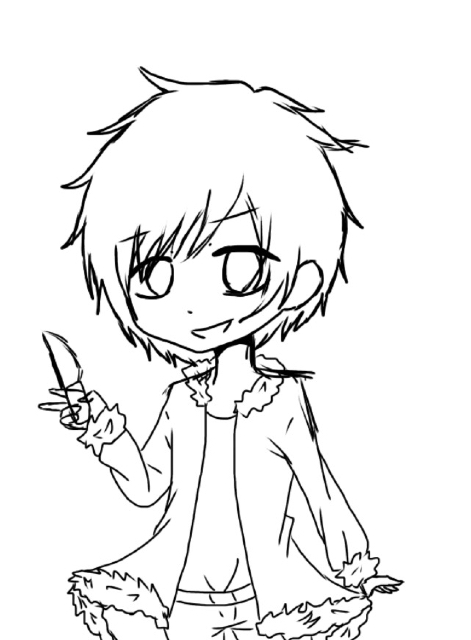 471x640 A Chibi Sketch Of Izaya Don'T Pay Too Much Attention To The Badly