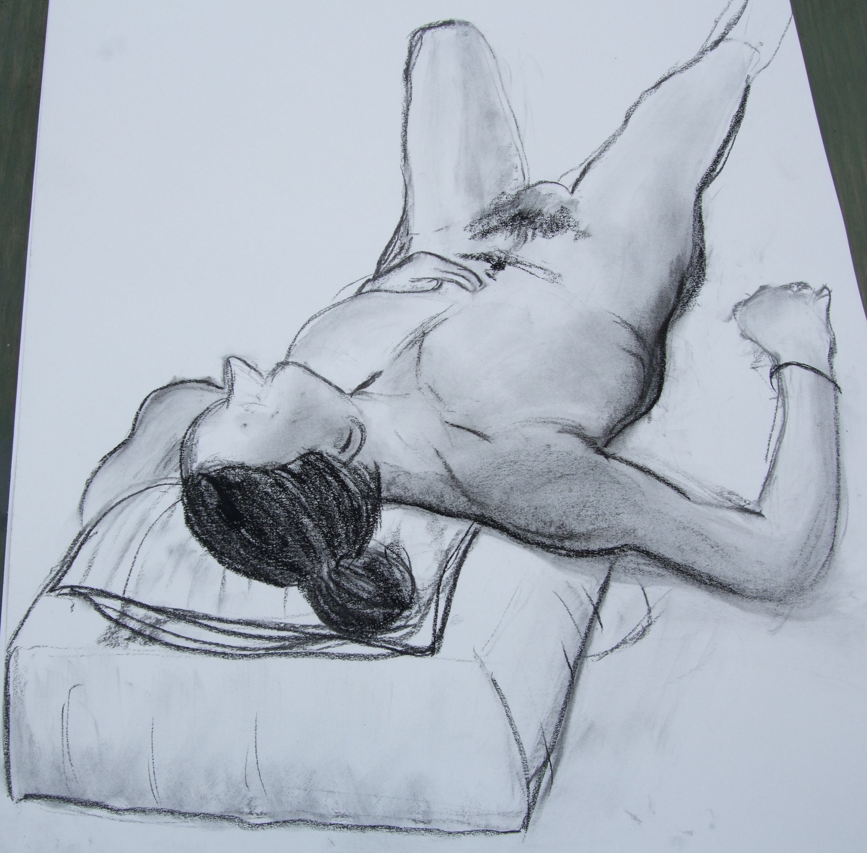 person lying down drawing at getdrawings com free for personal use