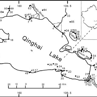 320x320 Changes In Water Salinity Vs. Water Ph In Lake Qinghai Area (The
