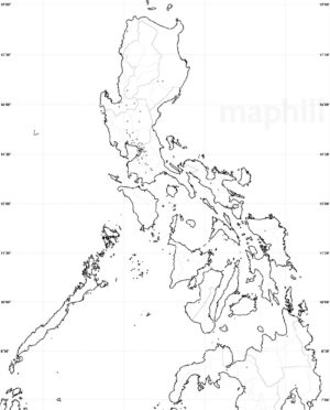 300x372 Blank Simple Map Philippines No Labels Westnortheast. Map