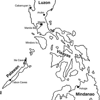 320x320 Sunda Shelf And Potential Migration Routes Into The Philippine