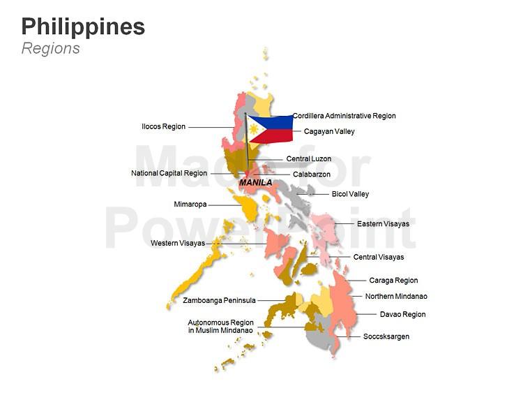 750x563 Philippines Map