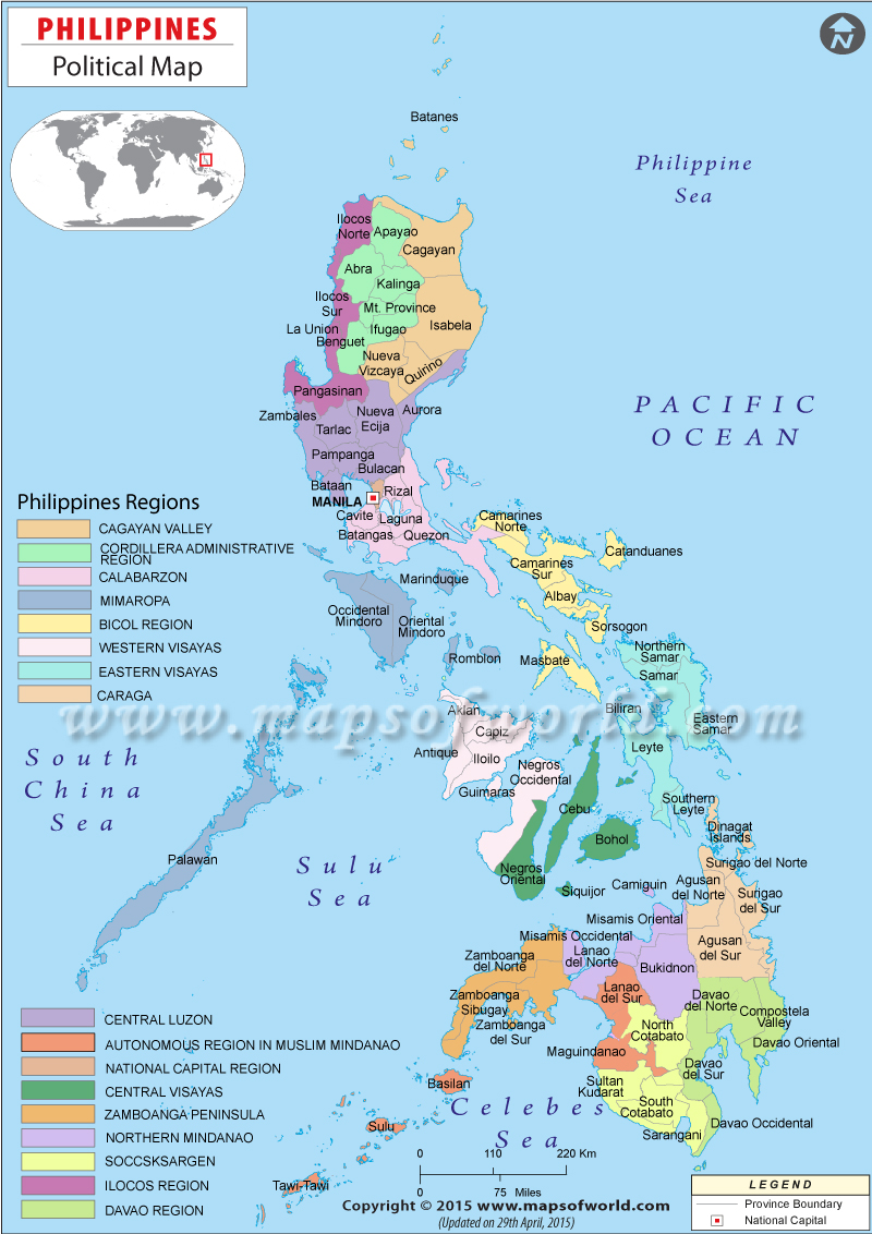 800x1132 Political Map Of Philippines Philippines Political Map